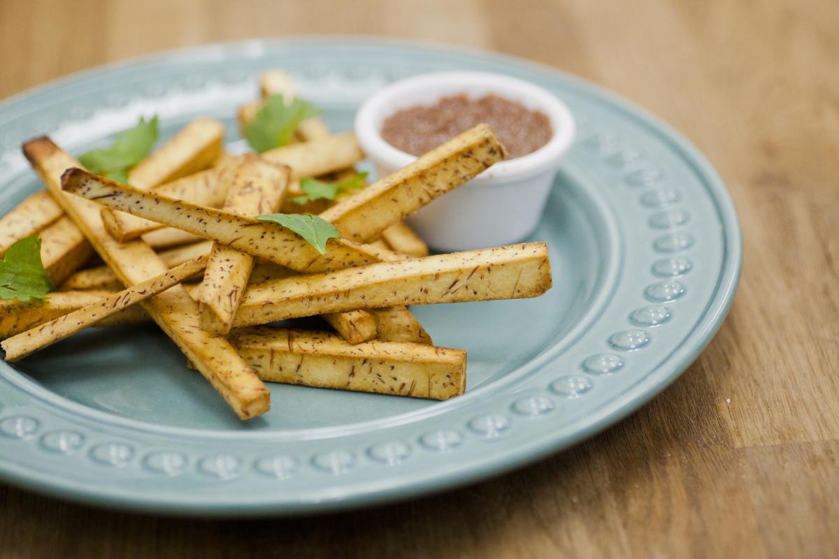 Yucca Fries w/Banana Ketchup
