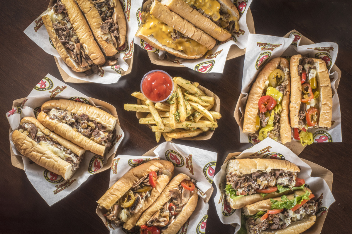 Party Pack of Six Philly Cheesesteaks with 6x Fries