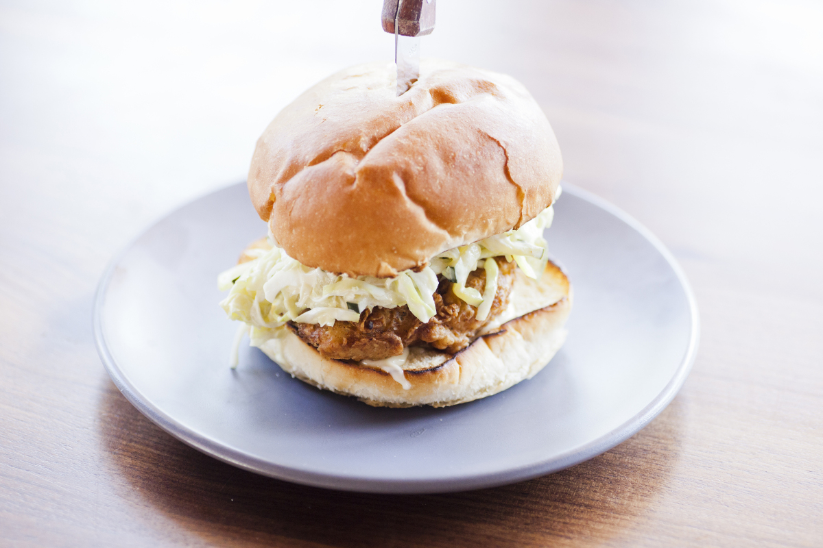 Mason Fried Chicken Sandwich