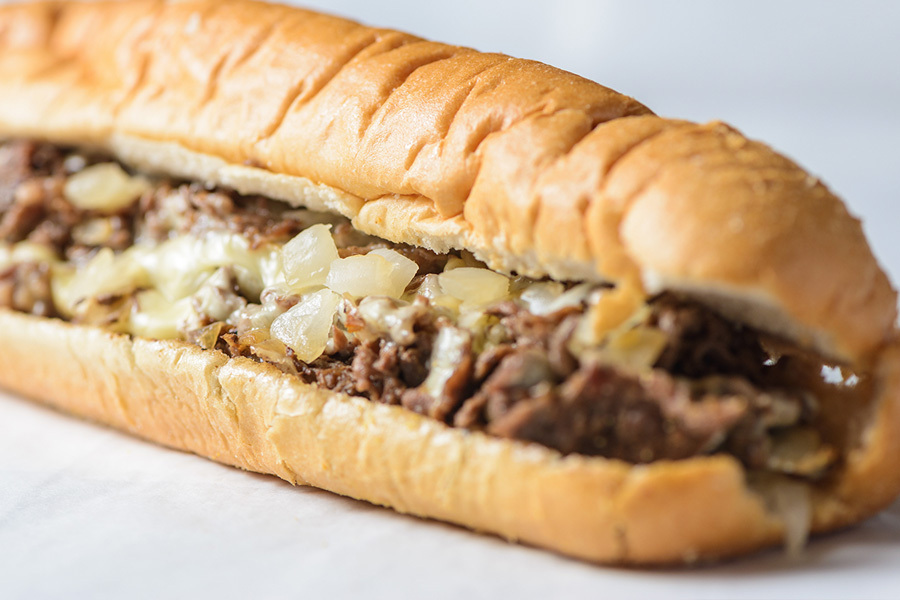 Party Pack of Eight Philly Cheesesteaks